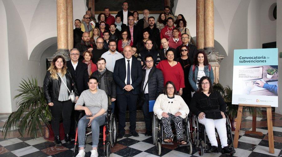 La Diputación favorece el acceso a una oportunidad laboral a nueve personas con diversidad funcional