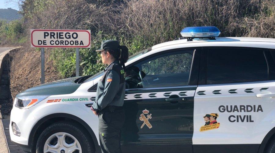 La Guardia Civil detiene en Priego de Córdoba a una persona como supuesta autora de 15 delitos de robo con fuerza
