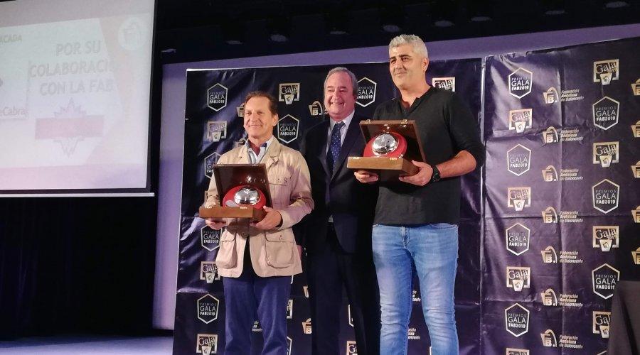 La Federación Cordobesa de Baloncesto premia al Patronato Municipal de Deportes de Cabra en su Gala anual