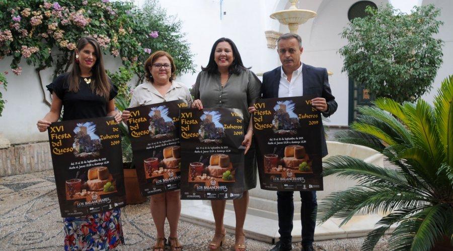 """Unas 40 variedades de queso podrán degustarse en la XVI Fiesta del Queso """"Villa de Zuheros"""""""