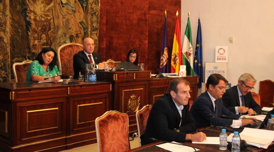 Las mancomunidades recibirán 270.000 euros de un plan de asistencia económica aprobado hoy por el Pleno de la Diputación