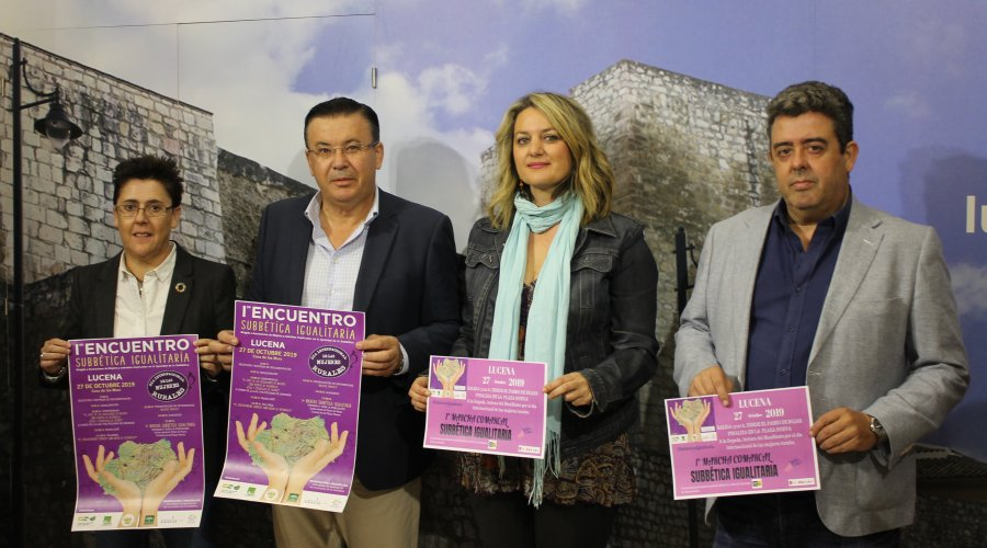 Lucena acoge el I Encuentro Subbética Igualitaria