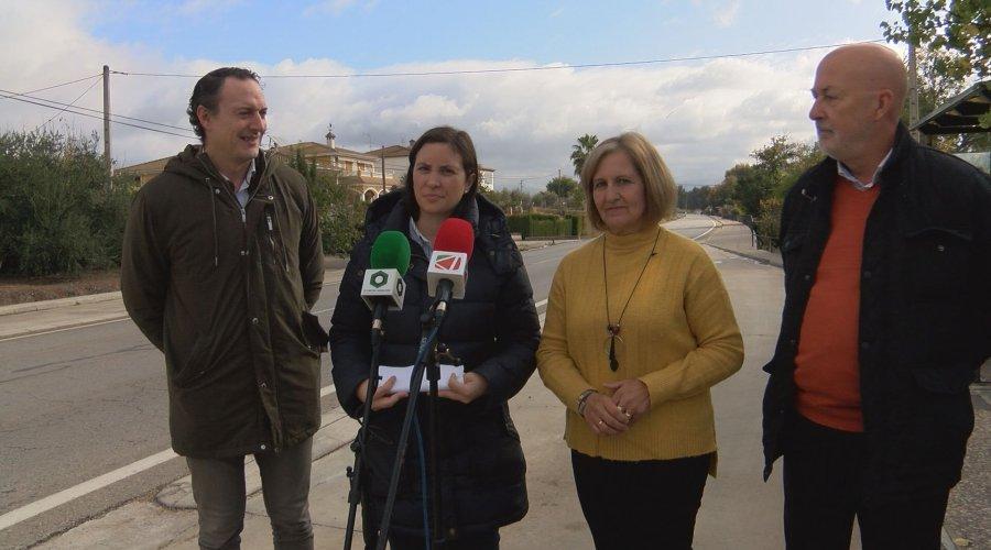 La Junta de Andalucía mejorará las cunetas de la carretera de las Huertas Bajas