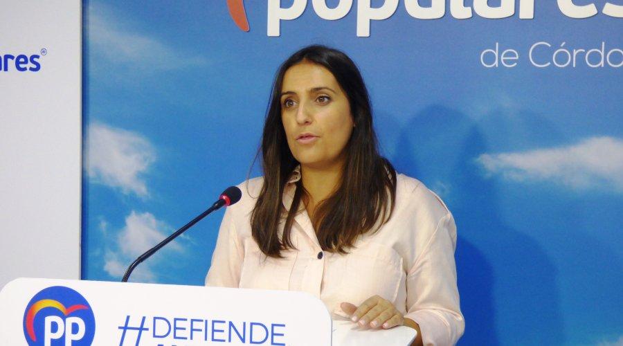 """Según Beatriz Jurado, el gobierno andaluz """"mantiene su apoyo e incrementa las ayudas a colectivos de mujer"""""""