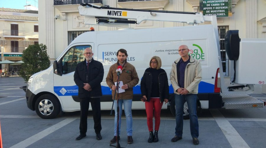 El Ayuntamiento adquiere un nuevo vehículo para el servicio de electricidad