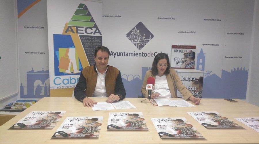 """Ayuntamiento y AECA se unen para fomentar las compras en el """"Día del Padre"""""""
