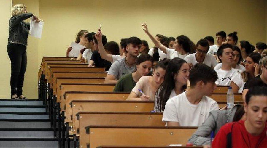 La prueba de acceso a la Universidad contará con una única propuesta de examen por asignatura y un mayor número de preguntas para elegir