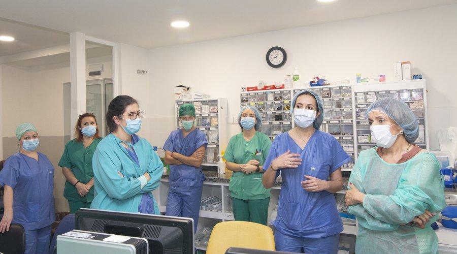 El Hospital Reina Sofía crea una Unidad específica para atender a los pacientes más graves tras una intervención quirúrgica
