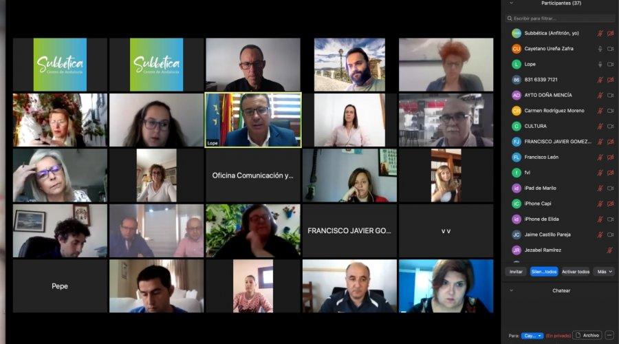 Formación Online para gestores turísticos sobre medidas de seguridad frente al Covid_19 impulsada por la Mancomunidad de la Subbética
