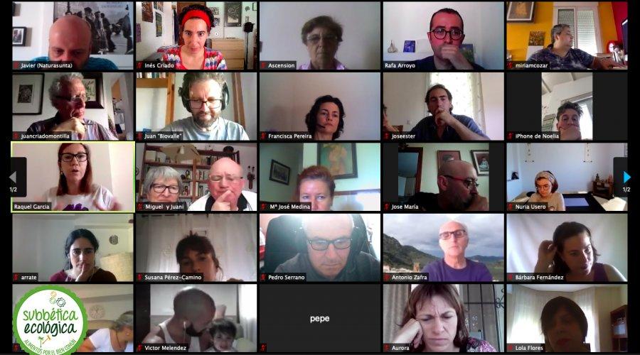 Renovada la Junta Directiva de Subbética Ecológica en una Asamblea General Virtual