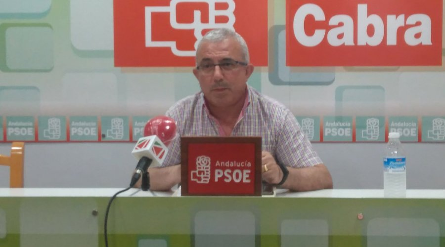 El Grupo Socialista apostará por la accesibilidad de Cabra en sus propuestas para las obras del PFEA