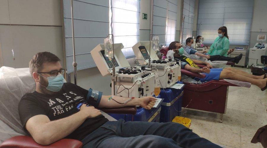 El Centro de Transfusión, Tejidos y Células organiza una colecta especial dentro de la Semana del Donante