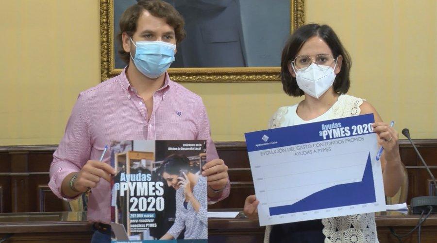 300.000 euros para el Plan de Apoyo a PYMES, que contempla nuevas líneas
