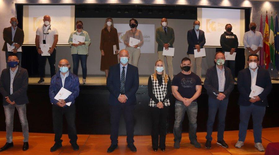 Diputación destina más de 160.000 euros al deporte de la provincia
