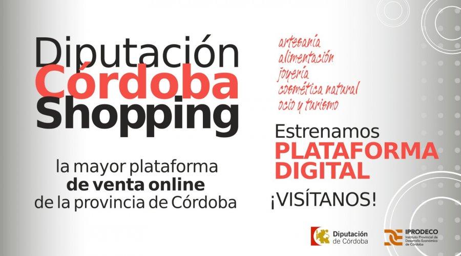 Iprodeco renueva la plataforma 'Córdoba Shopping', haciéndola más dinámica, visual y accesible