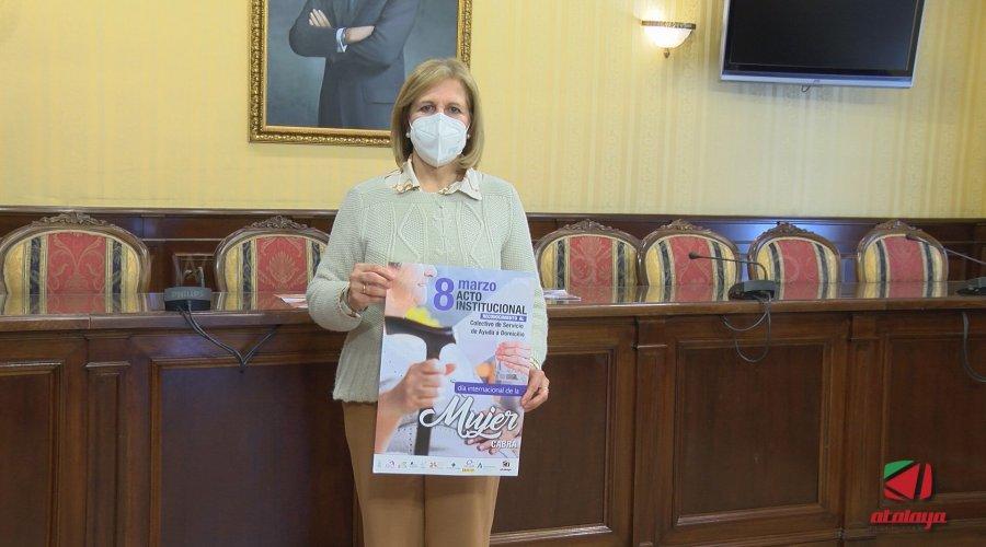 El colectivo del servicio de ayuda a domicilio será reconocido en el acto institucional del Día de la Mujer
