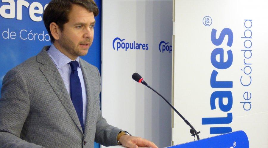"""Fernando Priego denuncia que los ayuntamientos """"no han recibido ni un euro de financiación extraordinaria por parte del Gobierno Central"""""""