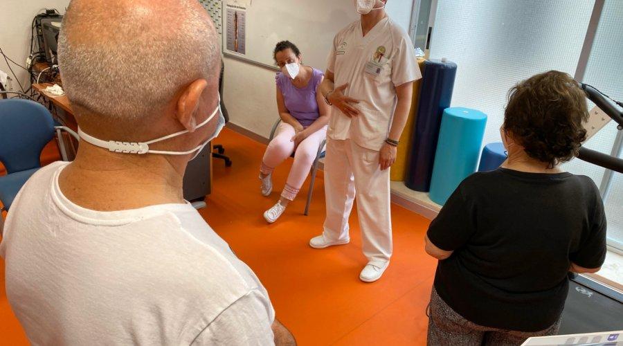 El Área de Gestión Sanitaria Sur de Córdoba continúa con el programa de Rehabilitación Cardiaca en el Hospital Infanta Margarita