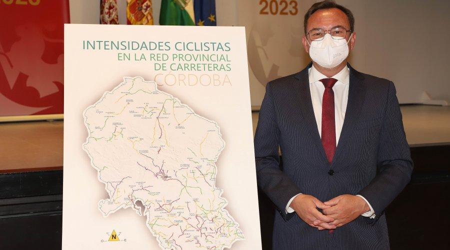 La Diputación trabaja en el diseño de rutas ciclistas seguras en la red provincial de carreteras
