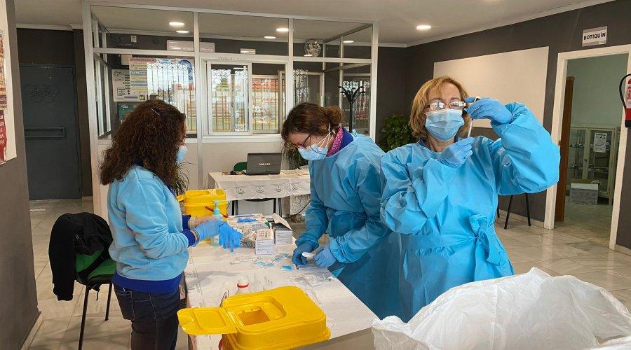 Los mayores de 45 años podrán vacunarse sin cita previa en los centros habilitados en el Área de Gestión Sanitaria Sur de Córdoba